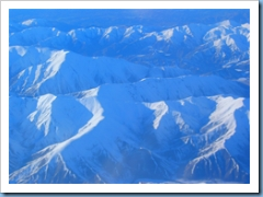 Here's a view from the plane on my recent trip from Christchurch.