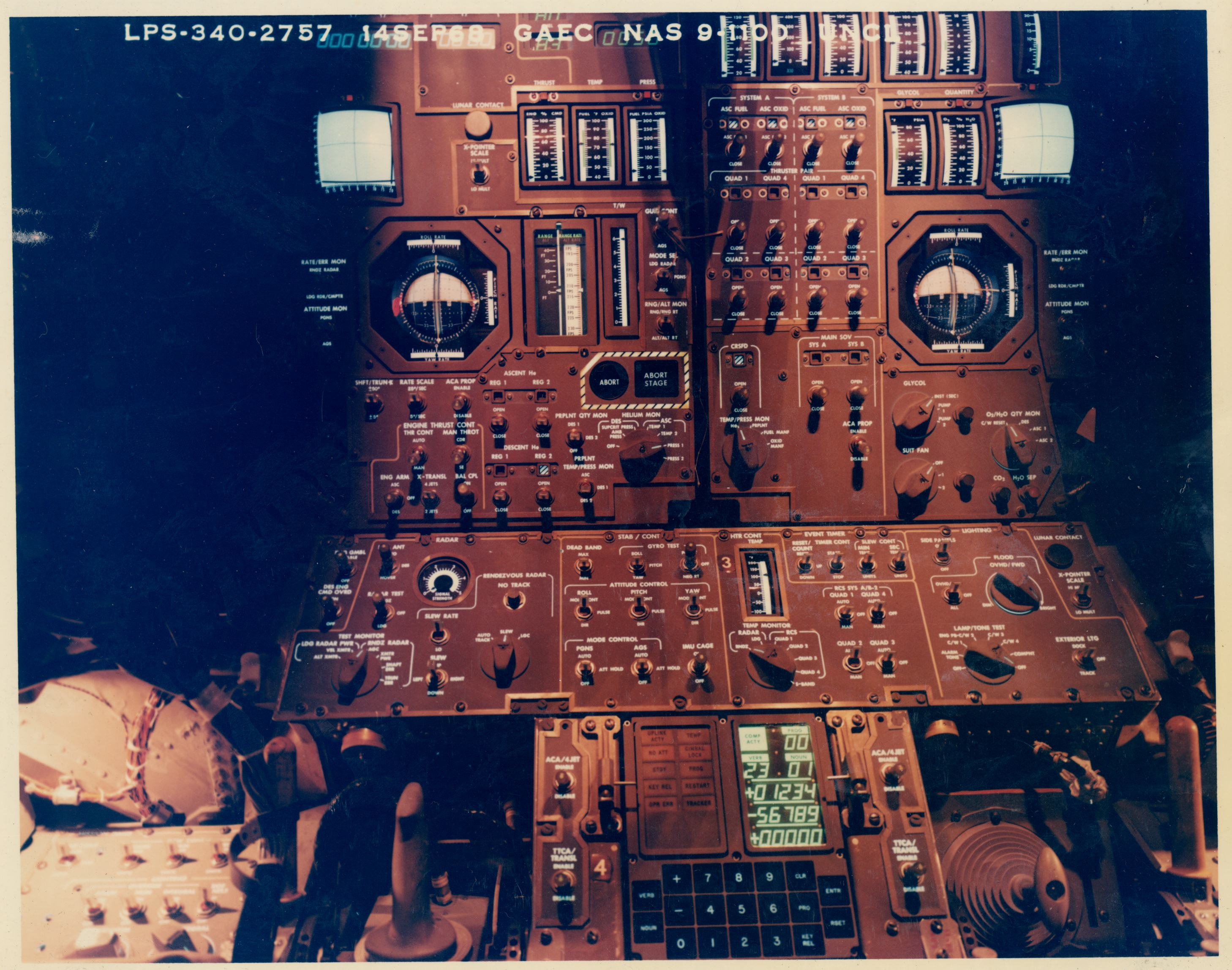 apollo capsule control panel - photo #42