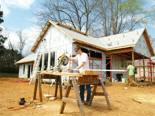 Habitat humanity house project