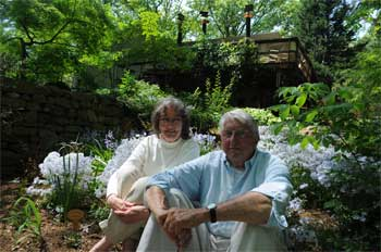 The Browers in the garden Photo by Ava Barlow