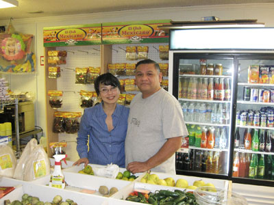 Alfonso and Isabel Guzman of Carrboro have opened a new grocery store, Tienda don Poncho, while their taco truck, Captain Poncho's Tacos, is undergoing renovations.