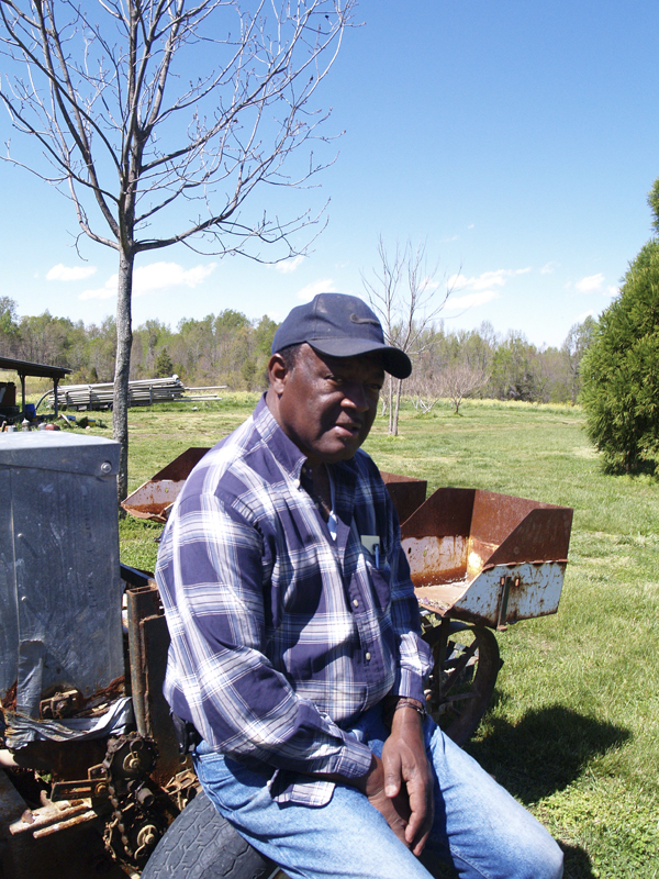 Stanley Hughes of Pine Knot Farm.