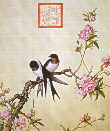 Album of Flower Paintings, Leaf 2, Lang Shining (Giuseppe Castiglione, S.J.) (1688-1766)