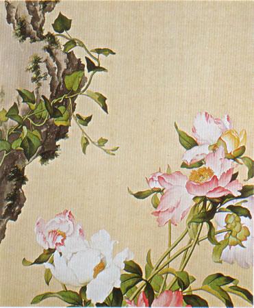 Album of Flower Paintings, Leaf 3, Lang Shining (Giuseppe Castiglione, S.J.) (1688-1766)
