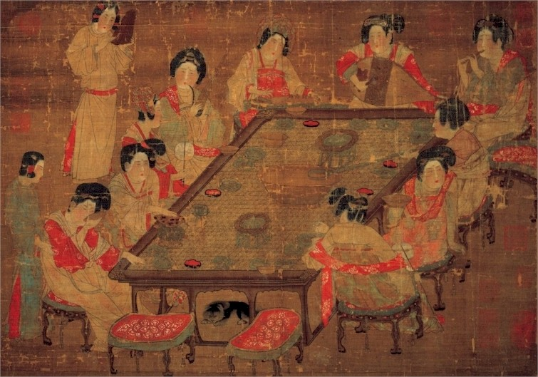 The art and images of china artistry paintings for Ano ang mural painting