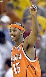 Carmelo Anthony, 6-8, Syracuse Carmelo Anthony 2002