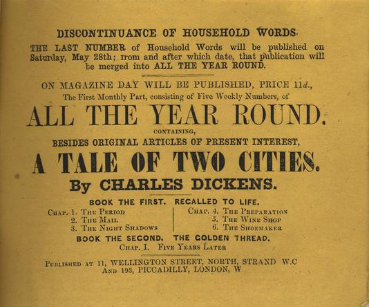 dickens charles a tale of two cities no i  page v ad