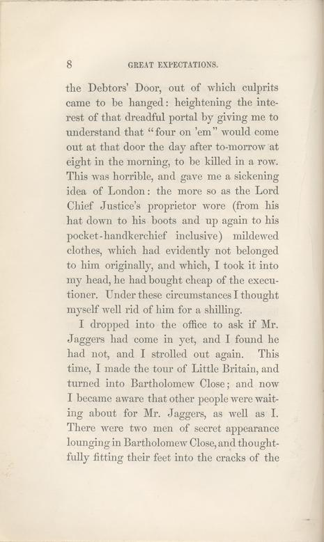dickens charles great expectations in three volumes  page 8