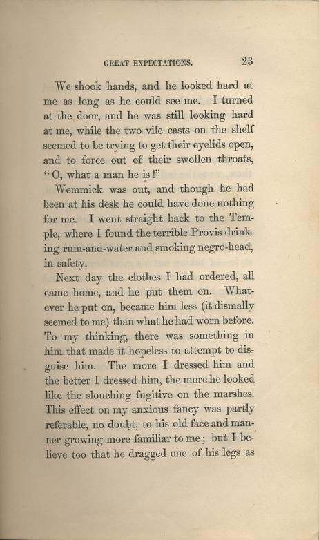 dickens charles great expectations in three volumes page 23