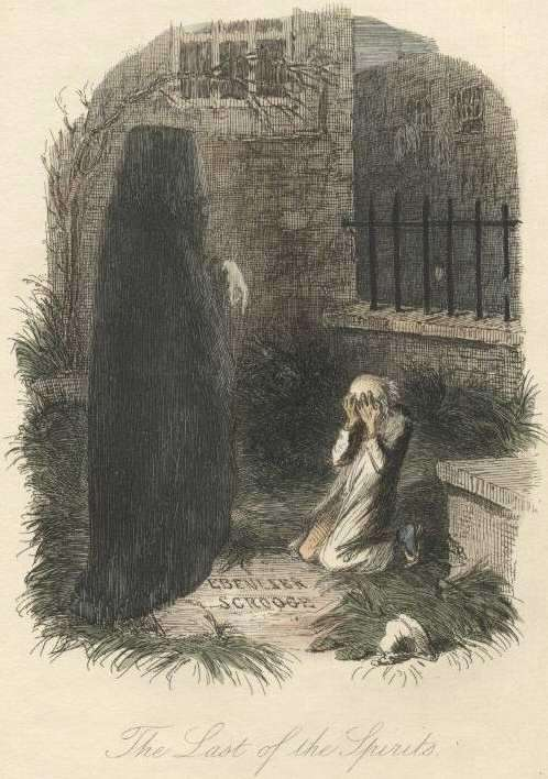 dickens spirit in a christmas carol A christmas carol by charles dickens stave 1:  what's christmas time to you but a  if the good saint dunstan had but nipped the evil spirit's nose with a.