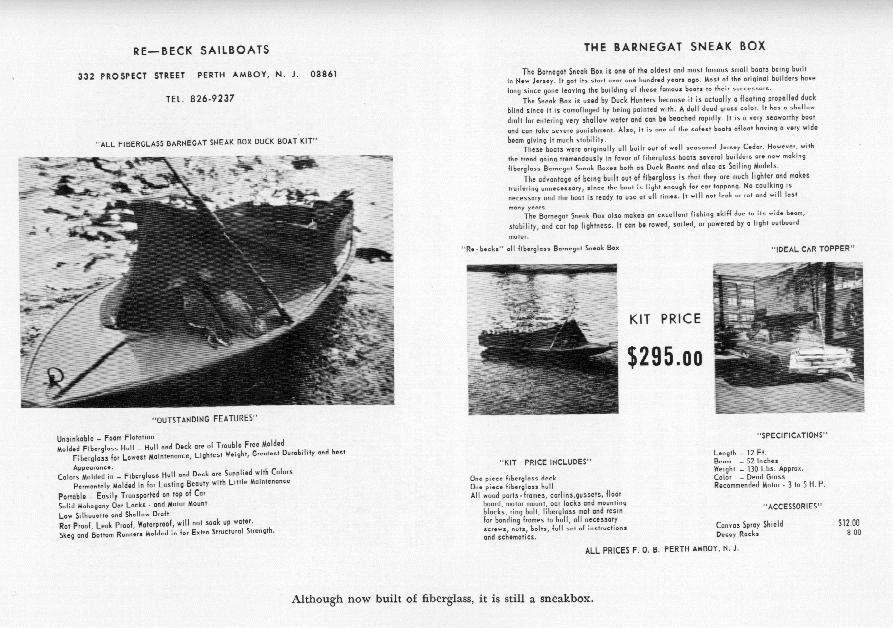 Sneak+Boat+Plans mystic seaport watercraft collection barnegat bay ...