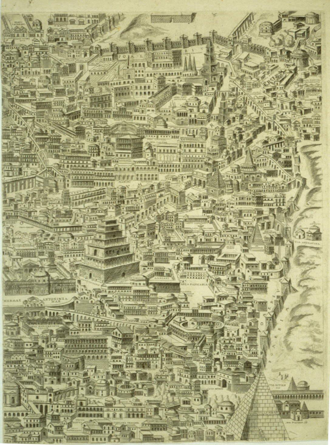 【古罗马手绘地图】