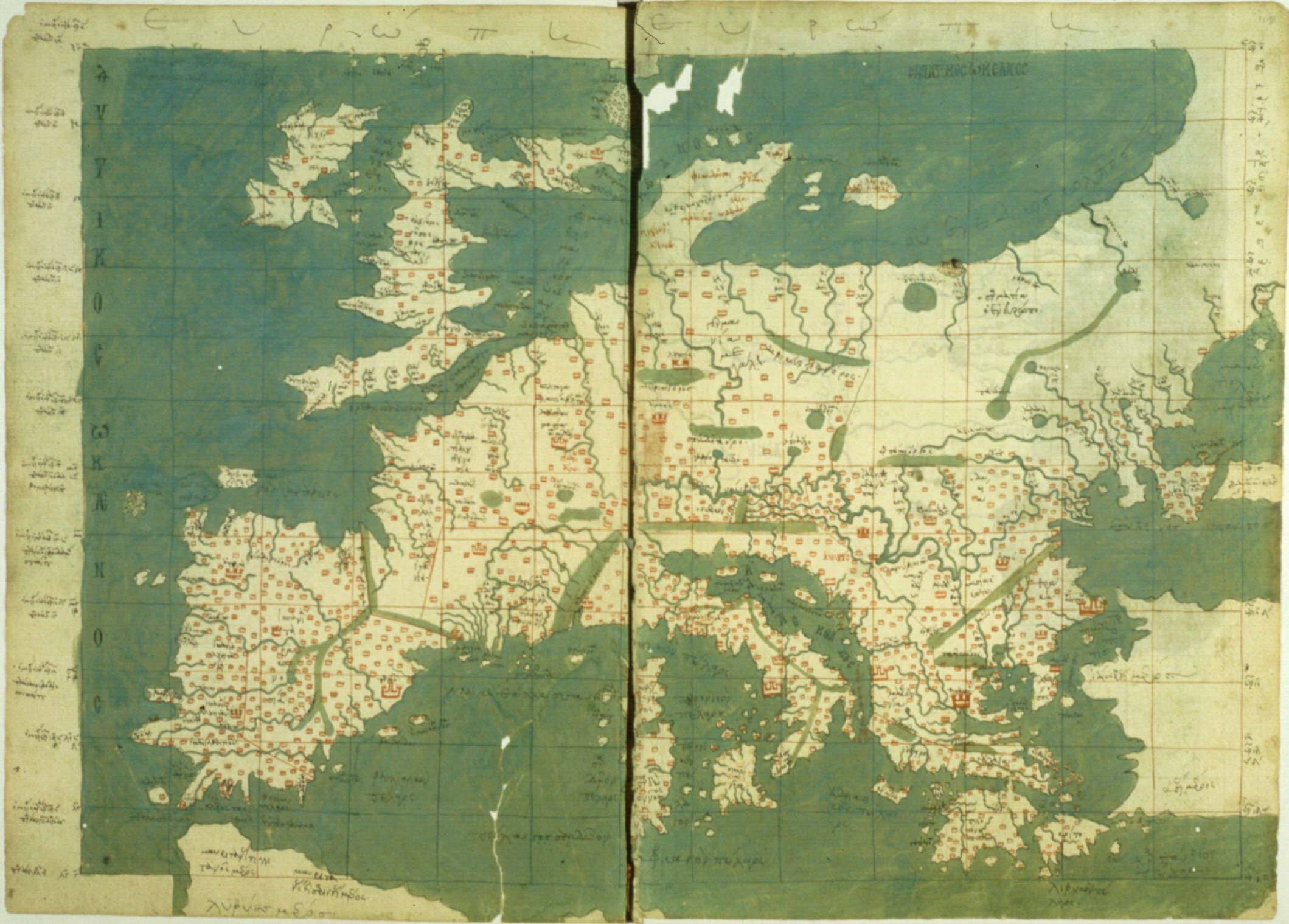 15th Century Map Of Europe.How The North Ended Up On Top Of The Map Al Jazeera America