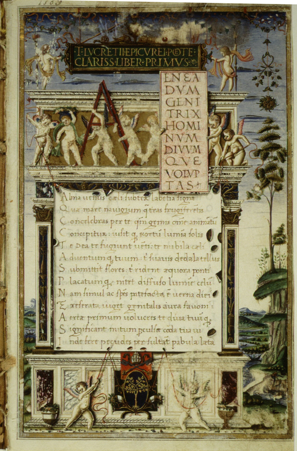 De rerum natura (Lucretius 54 B.C.)