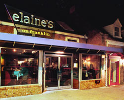 Elaines On Franklin Fine Dining In Chapel Hill