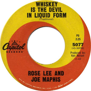 Bluegrass Discography: Viewing full record for Whiskey is