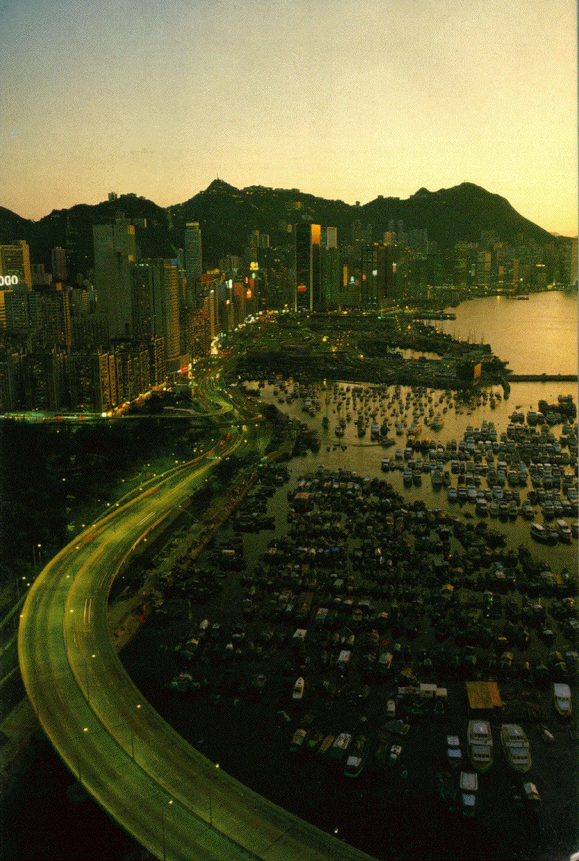 shore of Hong Kong Island,
