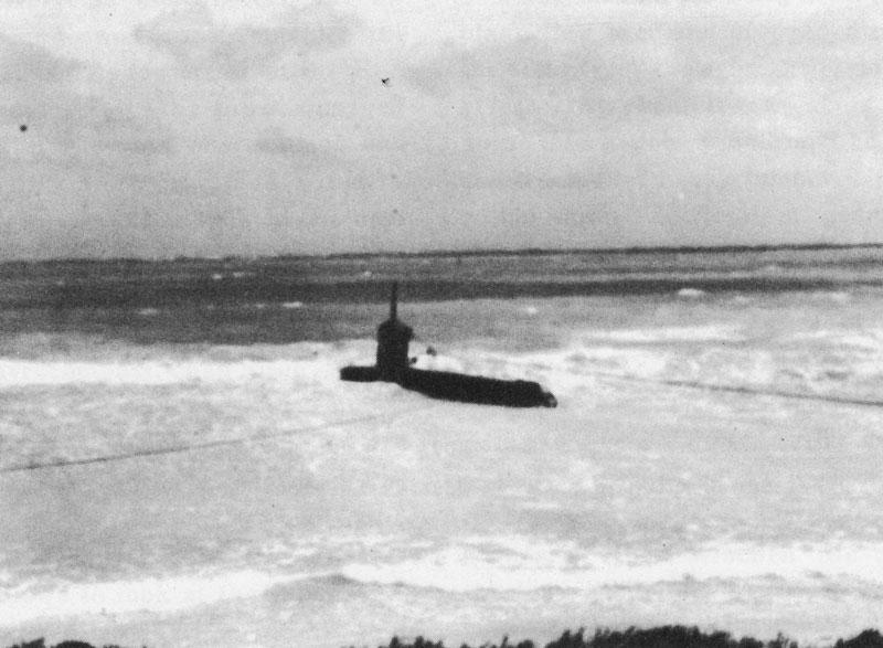 midget submarine bellows
