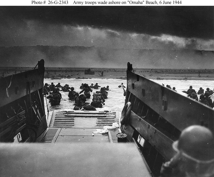 the events leading to the invasion of normandy