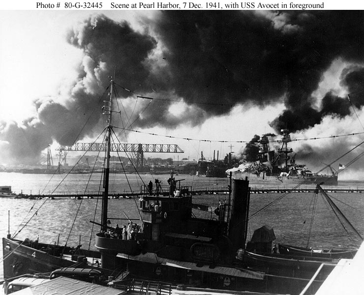 Ford College Station >> USS Nevada during the Pearl Harbor Attack