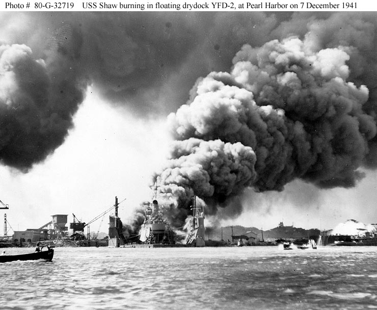 Events leading to the attack on Pearl Harbor