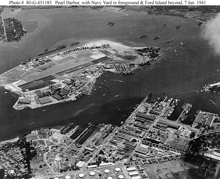 Pearl Harbor In 1940 1941