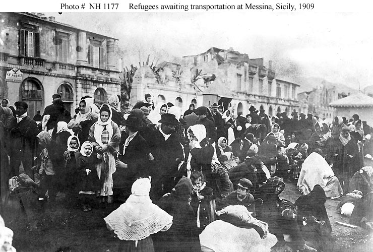 Events Earthquake At Messina Sicily 28 December 1908