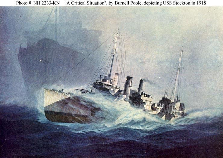 USN ShipsUSS Stockton  Destroyer   73  later DD73