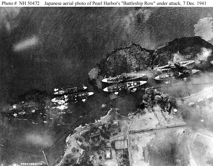 An account of events during the 1942 pearl harbor bombing