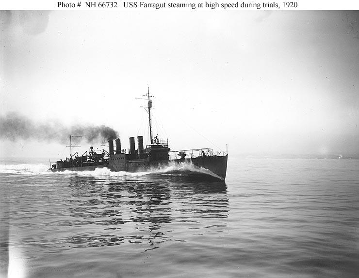 USS Farragut (DD-300) - Wikipedia
