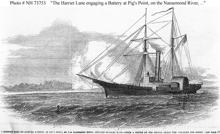 USN Ships--USS Harriet...
