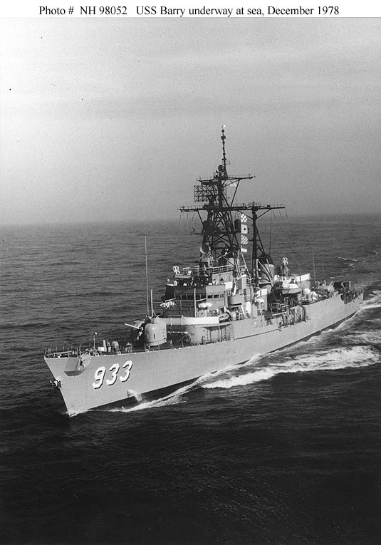 USS Sampson DDG 10 Med Cruise