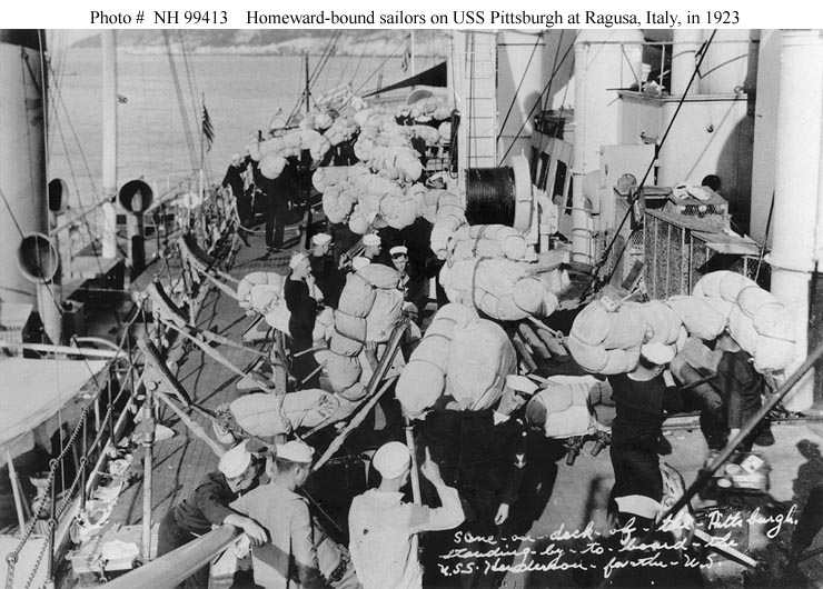 USN Ships--USS Henderson (AP-1) -- Post-World War I ...