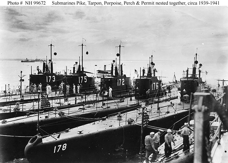 USN Ships--USS Porpois...
