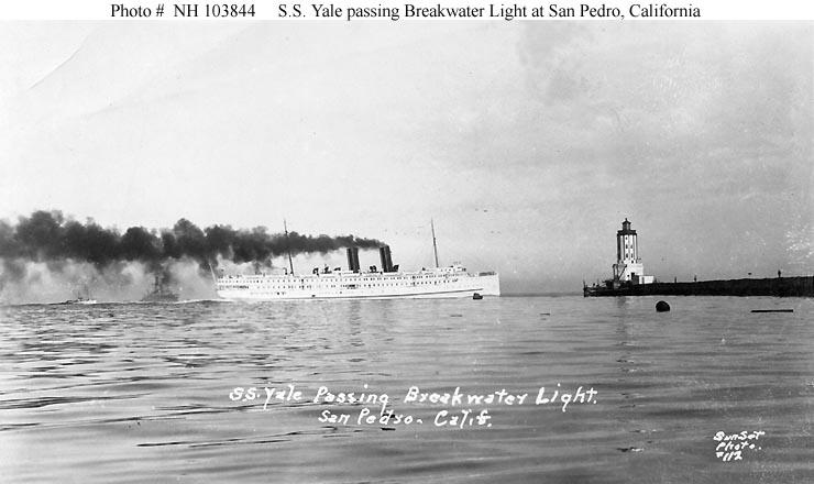 uss yale  id   1672   1918 1920