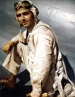 "Photo #   80-G-K-13830:  Lieutenant Commander Edward H. (""Butch"") O'Hare, USN"