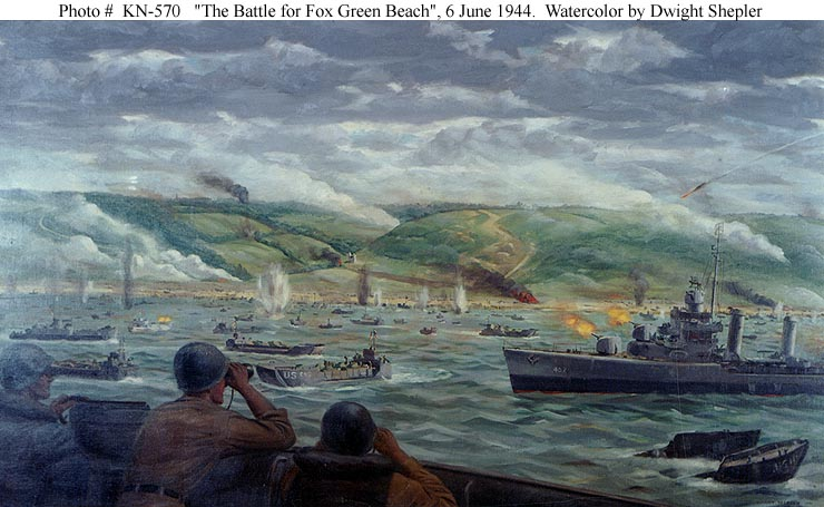 D Day Invasion Color Reproductions of this image