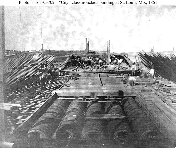 Usn Ships Uss Baron De Kalb 1862 1863 Ex Saint Louis