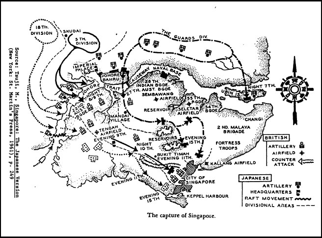 singapore  1942
