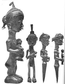 Bela Luhia statuettes