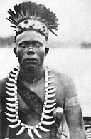 A native ruler: Sultan Lubanga