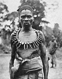 Chief of the Libenga village