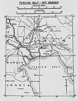 Image Result For Map Of Persian Gulf War