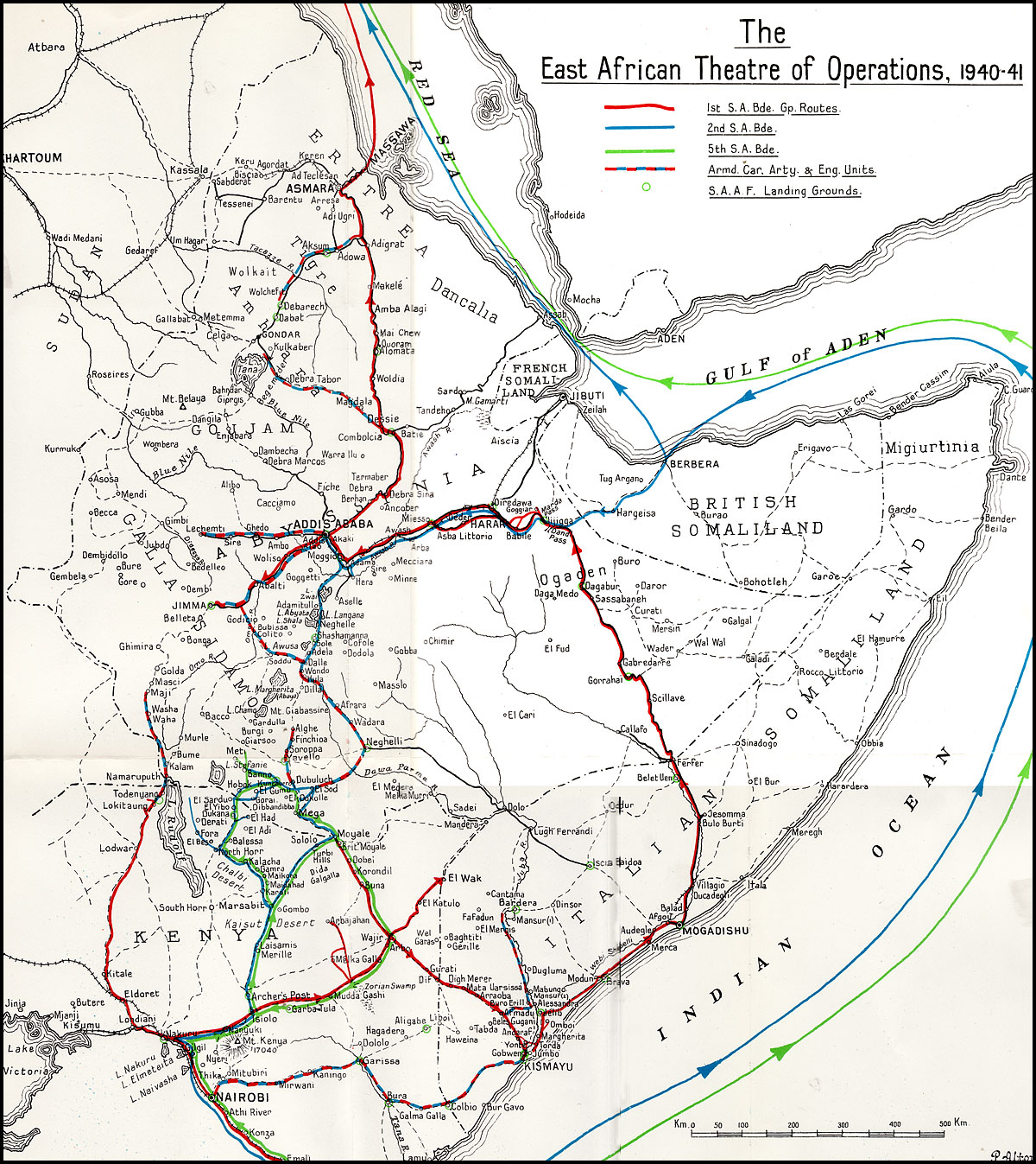 HyperWar: East African And Abyssinian Campaigns