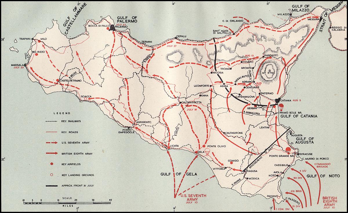 Sicily AMG Occupation In WW2 1943