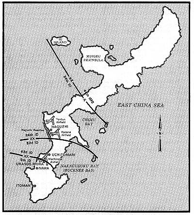 Map Of Okinawa