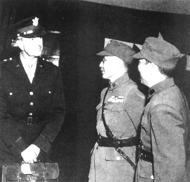 HyperWar: The U S  Army Campaigns of World War II: China Defensive