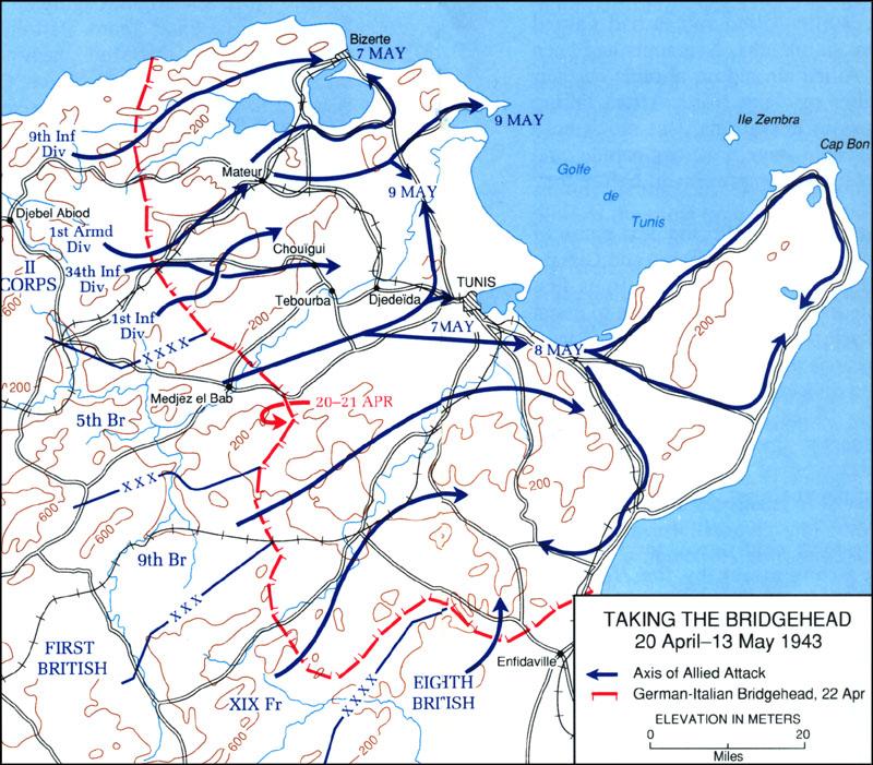 HyperWar U S Army Campaigns of World War II Tunisia