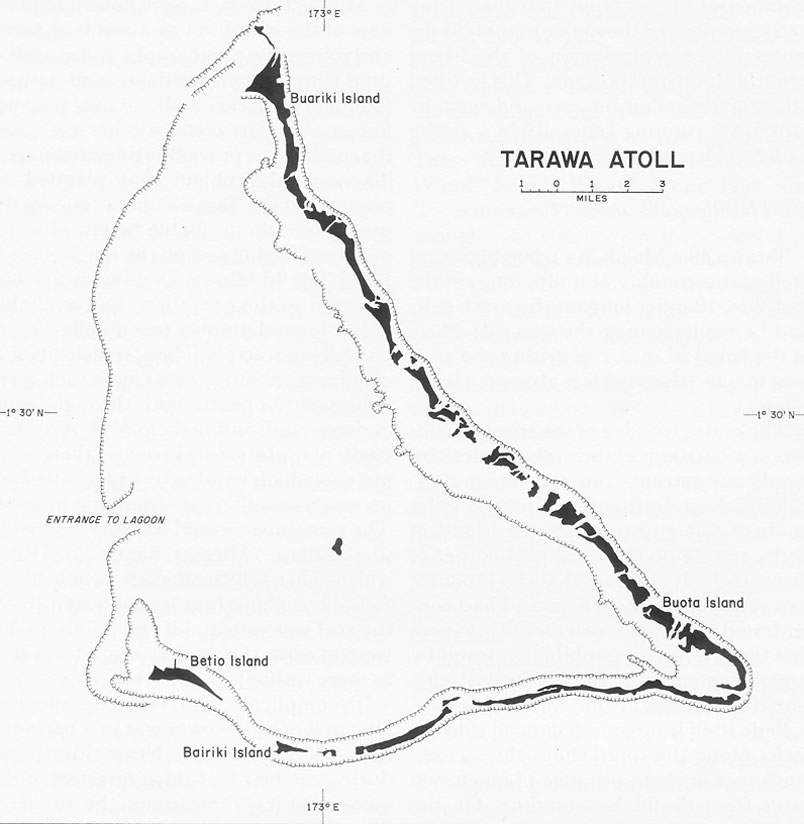 Map Tarawa Images - tarawa atoll map
