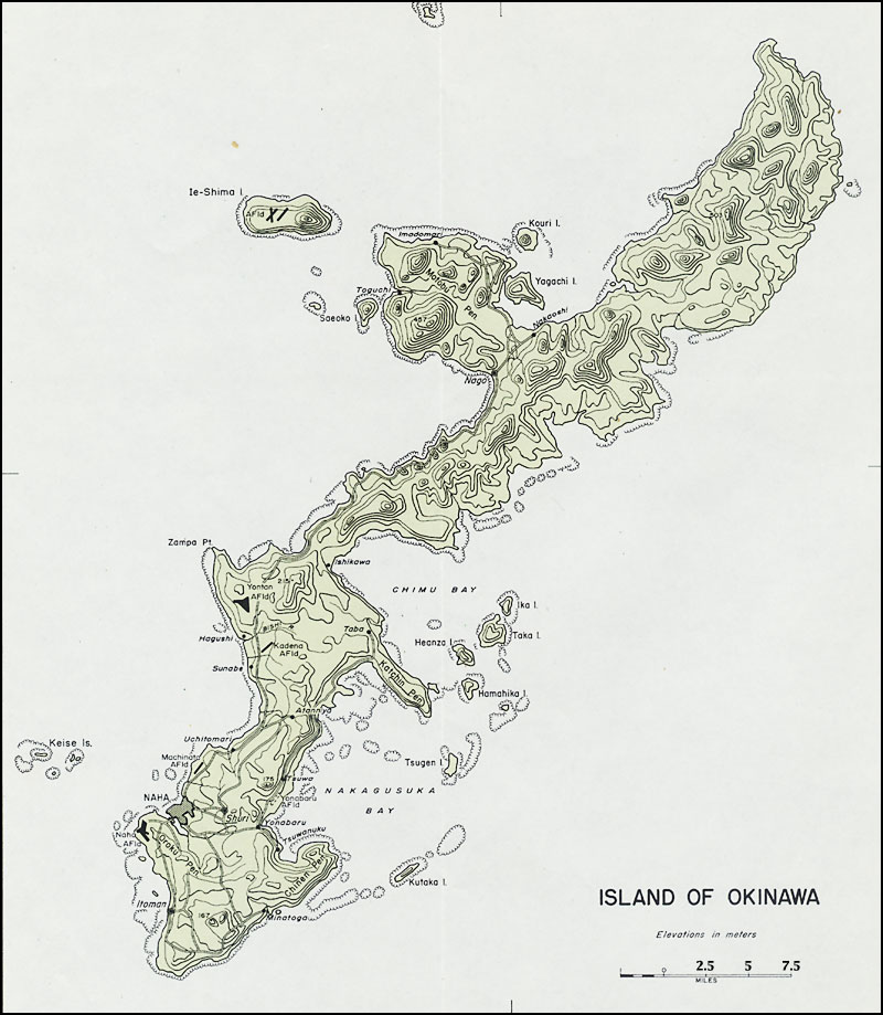 Okinawa The Final Great Battle Of World War II Marine Corps - Us army ww2 maps